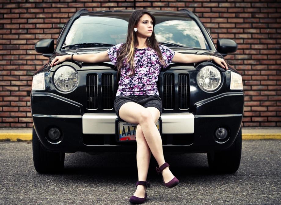 Jeep and Girl Wallpaper – WallpaperSafari