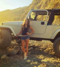 Pin by SLim2noNE23 on Jeep chICKs  Jeep White jeep Custom jeep