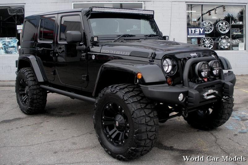2013 Custom Black Jeep Wrangler Unlimited Rubicon For Sale  Jeep …