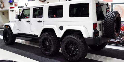 2017 Jeep Wrangler Six-Wheeler for Sale – Custom Jeep Gladiator …