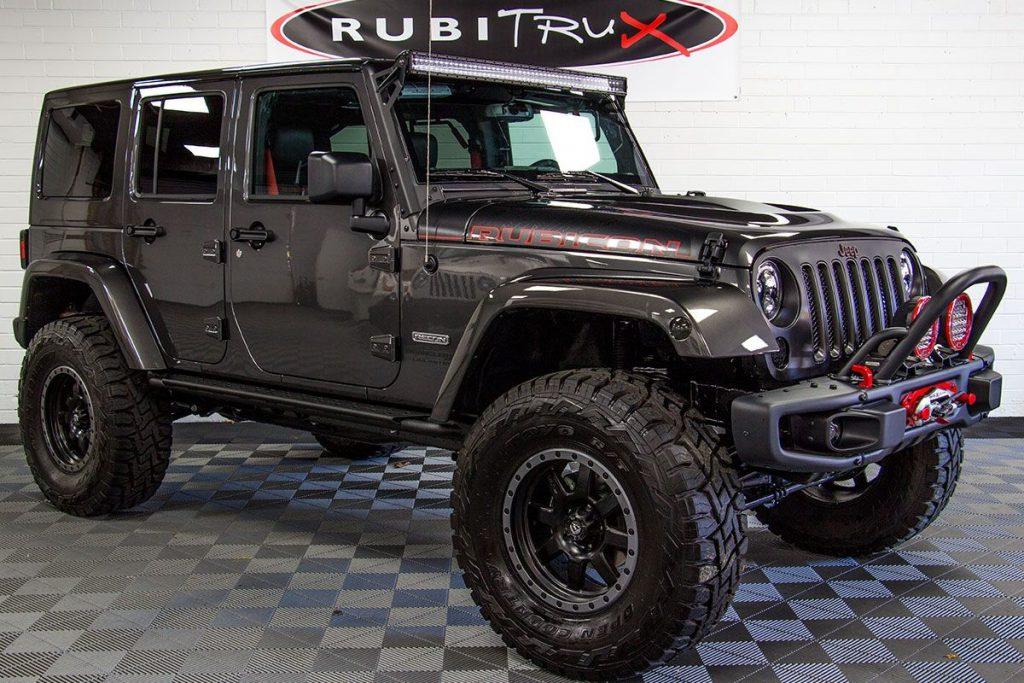 2018 Jeep Wrangler Rubicon Recon Unlimited Granite