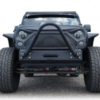Amazon.com GENSSI Aftermarket ABS Custom Grill Big Mouth For Jeep …