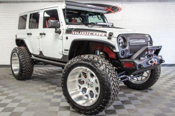 Jeep Wrangler JK Unlimited Custom Builds For Sale at RubiTrux