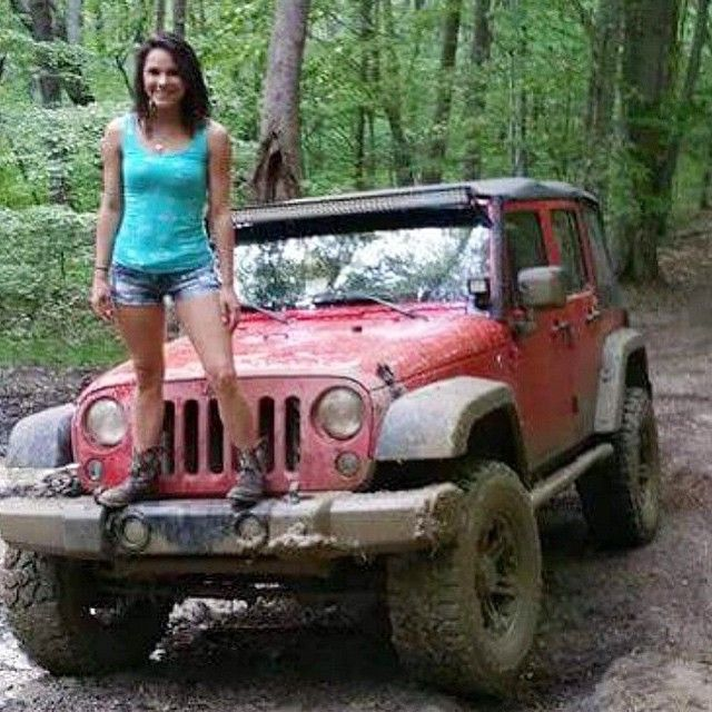 Jeep Girl . . . Dirty Jeep  4WD Nation  Jeep Jeep cars Jeep images