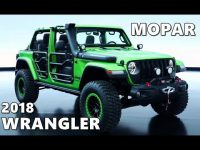 Custom 2018 Jeep Wrangler by Mopar – YouTube