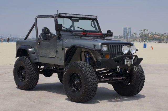 Jeep Wrangler YJ Custom NO RESERVE For Sale Long Beach California …
