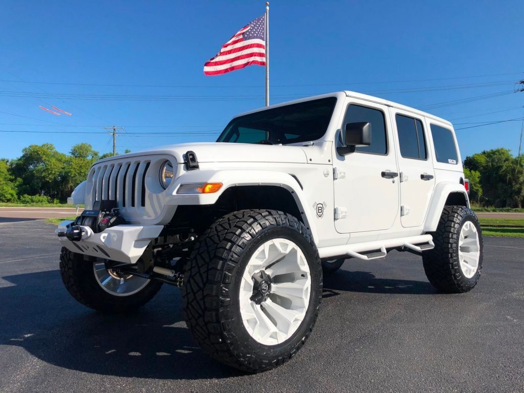 2018 Jeep Wrangler JL White OUT Custom Lifted Leather HARDTOP for sale
