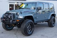 2014 Custom Jeep Wrangler Rubicon in Anvil  Jeep Mods  Jeep …
