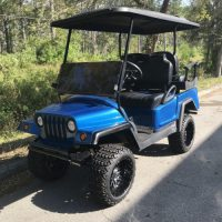 Custom Jeep Wrangler Golf Cart Electric 48v Model – Petes Golf Carts