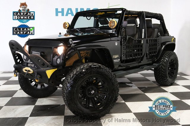 2014 Used Jeep Wrangler Unlimited CUSTOM JEEPS at Haims …
