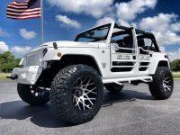 2018 Jeep Wrangler Custom Lifted Sahara White OUT Leather HARDTOP …