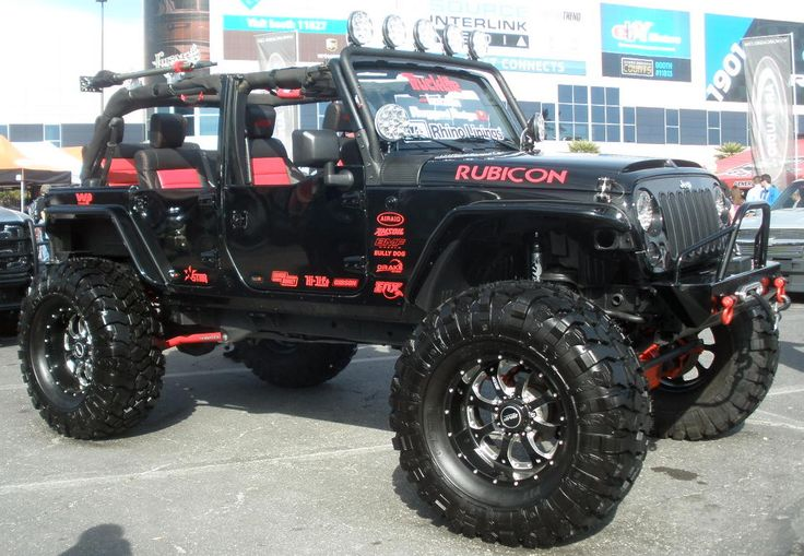 4 Door Custom Jeep Wrangler Rubicon Jeep amp 44 Pinterest