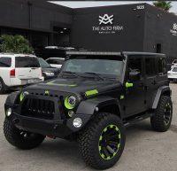 Major League Baseball Star Alex Gonzalez Goes Custom on His Jeep …