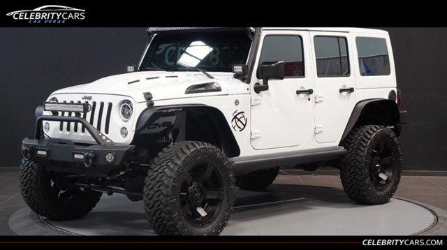 2016 Used Jeep Wrangler Unlimited CUSTOM at Celebrity Cars Las …