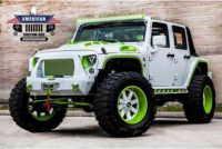 Jeep Wrangler Unlimited Sport 4×4 Custom Paint Matched 2016  Leather