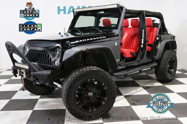 2015 Jeep Wrangler Unlimited CUSTOM JEEPS SUV for Sale Hollywood …