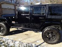 Buy used 2010 Custom Jeep Wrangler Sahara Unlimited Low Miles in …