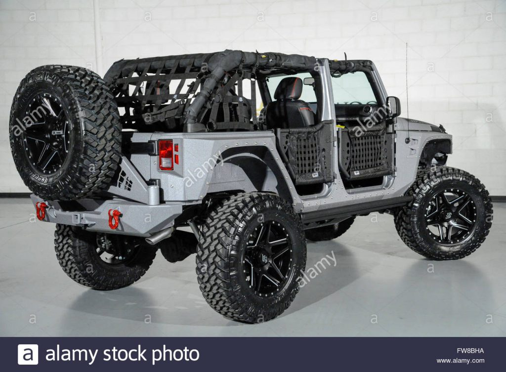 April 1 2016 Custom Jeep Wrangler with custom doors and leather …
