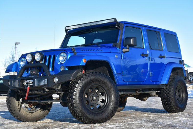 2015 Jeep Wrangler Unlimited Rubicon Custom for sale 94007  MCG