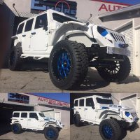 White Custom Jeep Wrangler 2  Empire Collision Experts