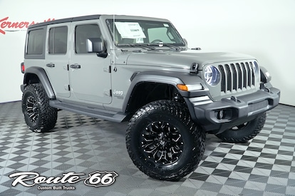New 2020 Lifted Jeep Wrangler JL Unlimited Sport Custom Route 66 …