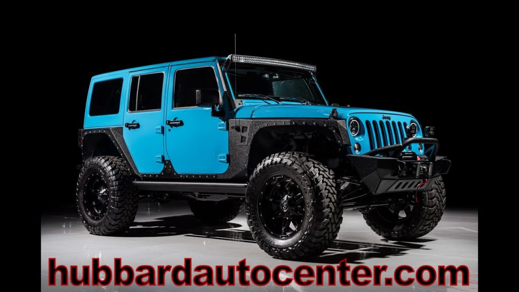 2017 Jeep Wrangler Unlimited Fully Custom Inside and Out Chief …