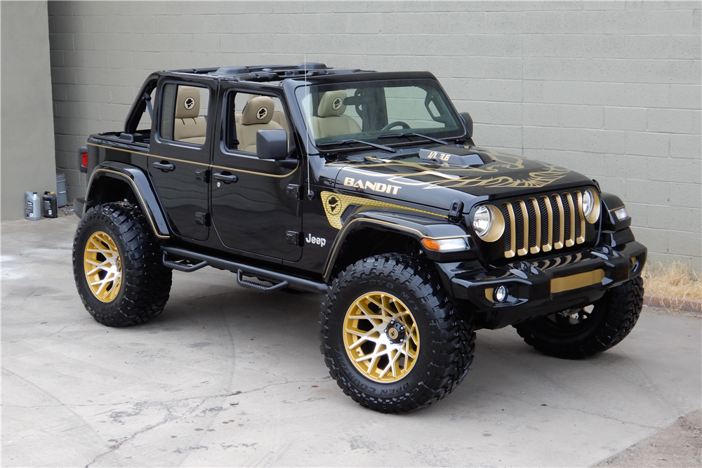 Available at Scottsdale 2019 – Lot 766 2018 JEEP WRANGLER JL …