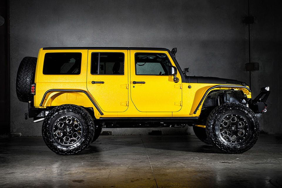Custom Jeep Wrangler Yellow Jacket  Jeep wrangler Jeep suv Jeep …
