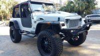 2006 Jeep Wrangler TJ  LJ Custom Hood and Grill  Jeep wrangler …