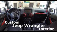 DIY Custom Jeep Wrangler Interior – Part 2 – YouTube