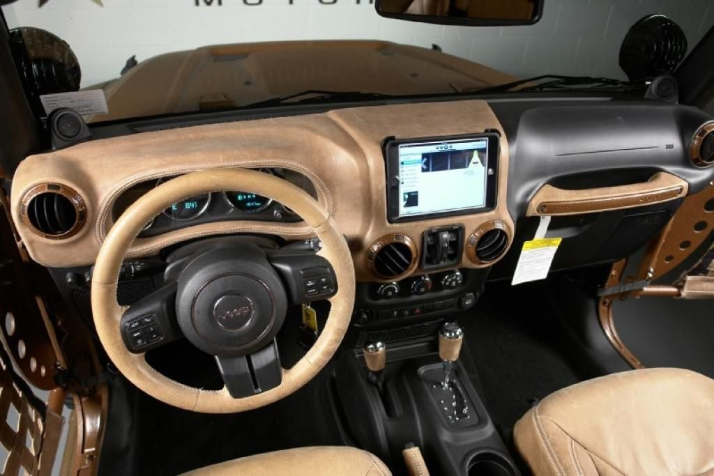 Jeep Wrangler Unlimited Custom Interior 247  Custom jeep …