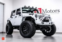 2015 Jeep Wrangler Unlimited Sport  Bright White  Custom Leather …