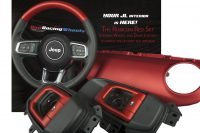 Custom JL interior set in Rubicon Red  2018 Jeep Wrangler Forums …