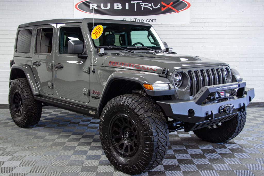 Custom Lifted 2020 Jeep Wrangler Unlimited Rubicon Jl 6 2l Hellcat