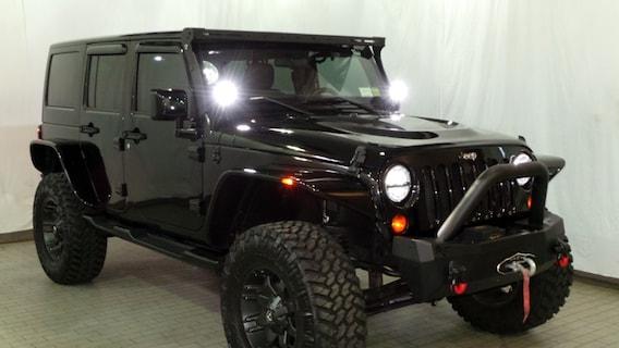 Black Custom Jeep Wrangler – Eastchester Customs