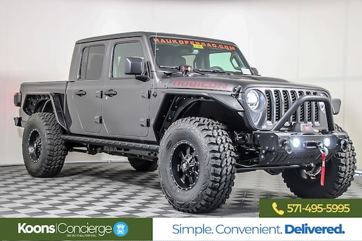 Custom Lifted Jeep SUVs For Sale In Vienna At Koons Chrysler Dodge …