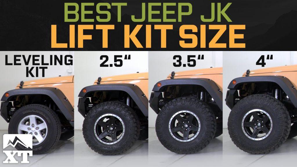 Jeep Wrangler JK Leveling Kit vs 2.5 vs 3.5 vs 4 – How To …