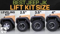 Jeep Wrangler JK Leveling Kit vs 2.5 vs 3.5 vs 4 – How To …