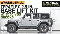 Jeep Wrangler JL 4-Door Teraflex 2.5 in. Base Lift Kit w 9550 VSS …