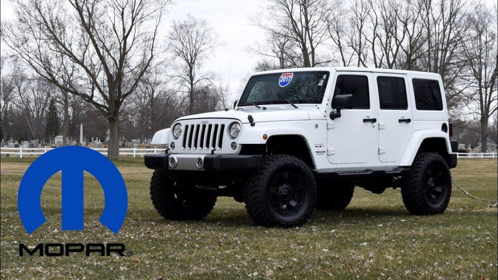 Mopar Jeep Performance Parts 4 Lift Kit for Jeep Wrangler JK …