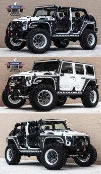 A collection of customized jeeps that I find cool and interesting …