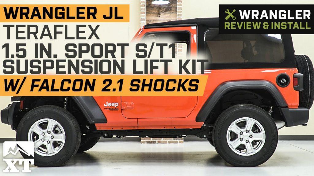 Wrangler JL 2 Door Teraflex 1.5 in. Sport ST1 Lift Kit w Falcon …
