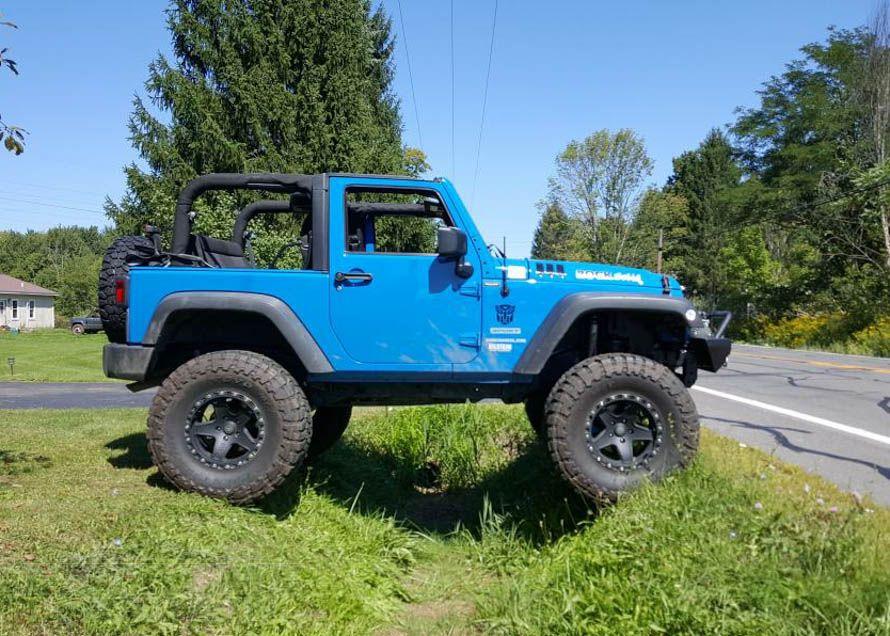JK 2-Door Wrangler with a 6in Lift Kit Installed  Jeep wrangler …