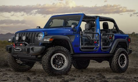 Mopar Will Sell you a Custom Jeep Wrangler From the Dealer