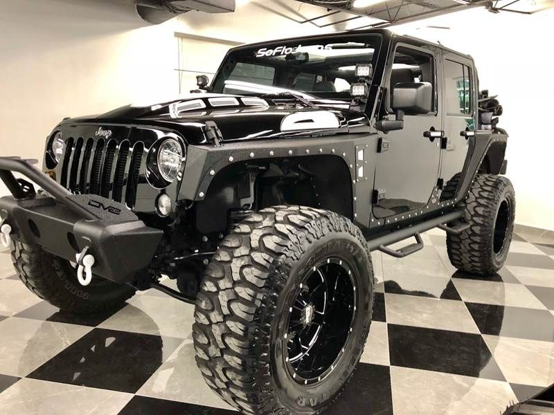 2018 Jeep Wrangler Unlimited Custom recon package FOR SALE By …