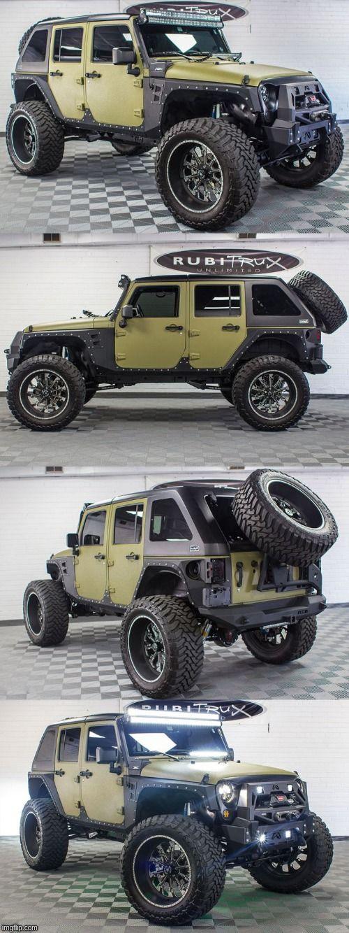 Jeep Wrangler JK Rubicon  Jeep wrangler camping Jeep rubicon …