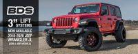 3 Lift Systems  2018-2020 Jeep Wrangler JL  NPA 361  BDS