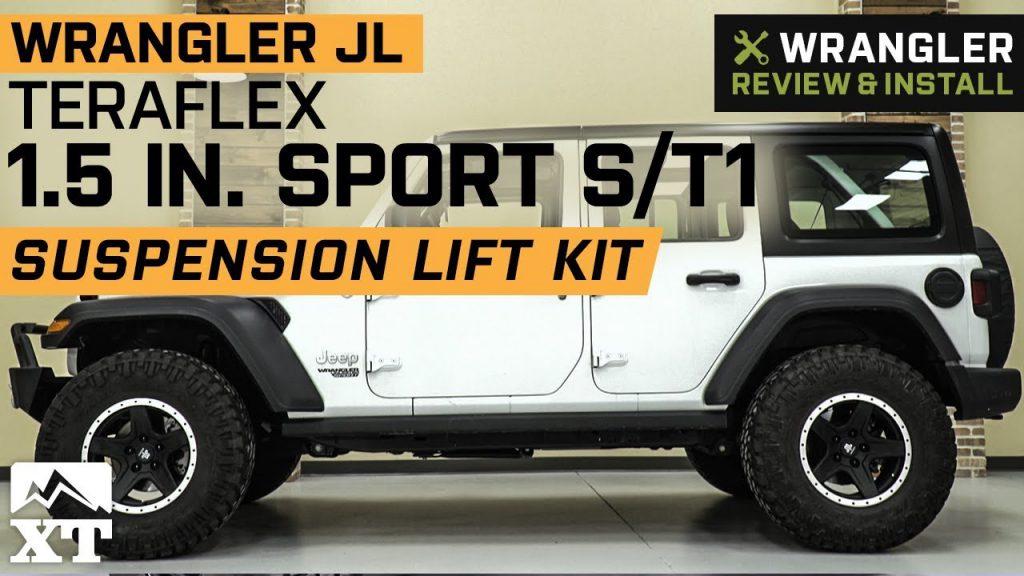 Jeep Wrangler JL Teraflex 1.5 Sport ST1 Suspension Lift Kit …